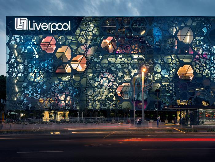 Liverpool Insrugentes, Mexico City. Foto: Jaime Navarro.