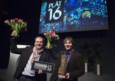 Tengbom, vinnare av PLÅTPRISET 2016 för Alingsås Tingsrätt.